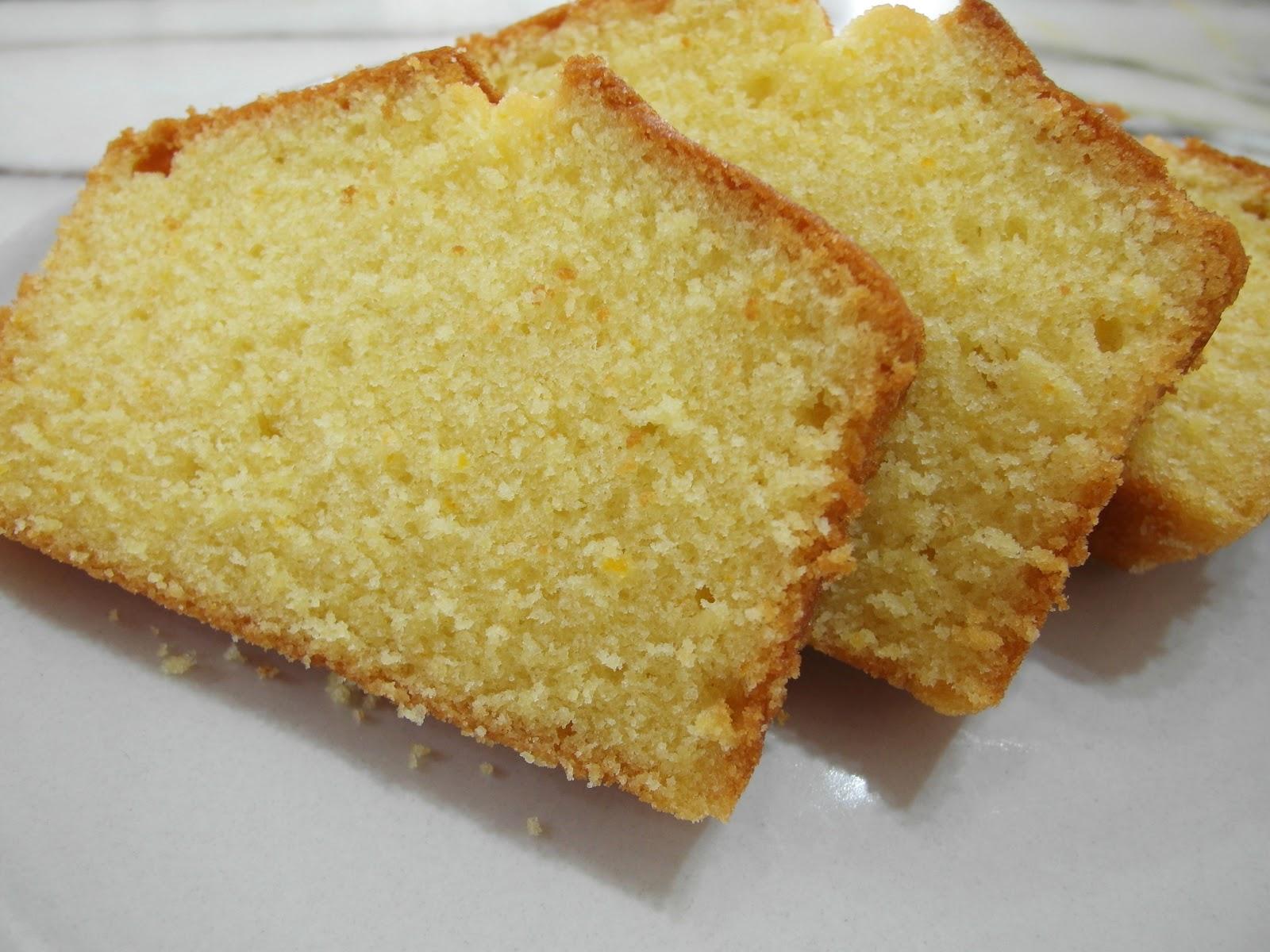 Baking Library: Back to Basics - Orange Butter Cake