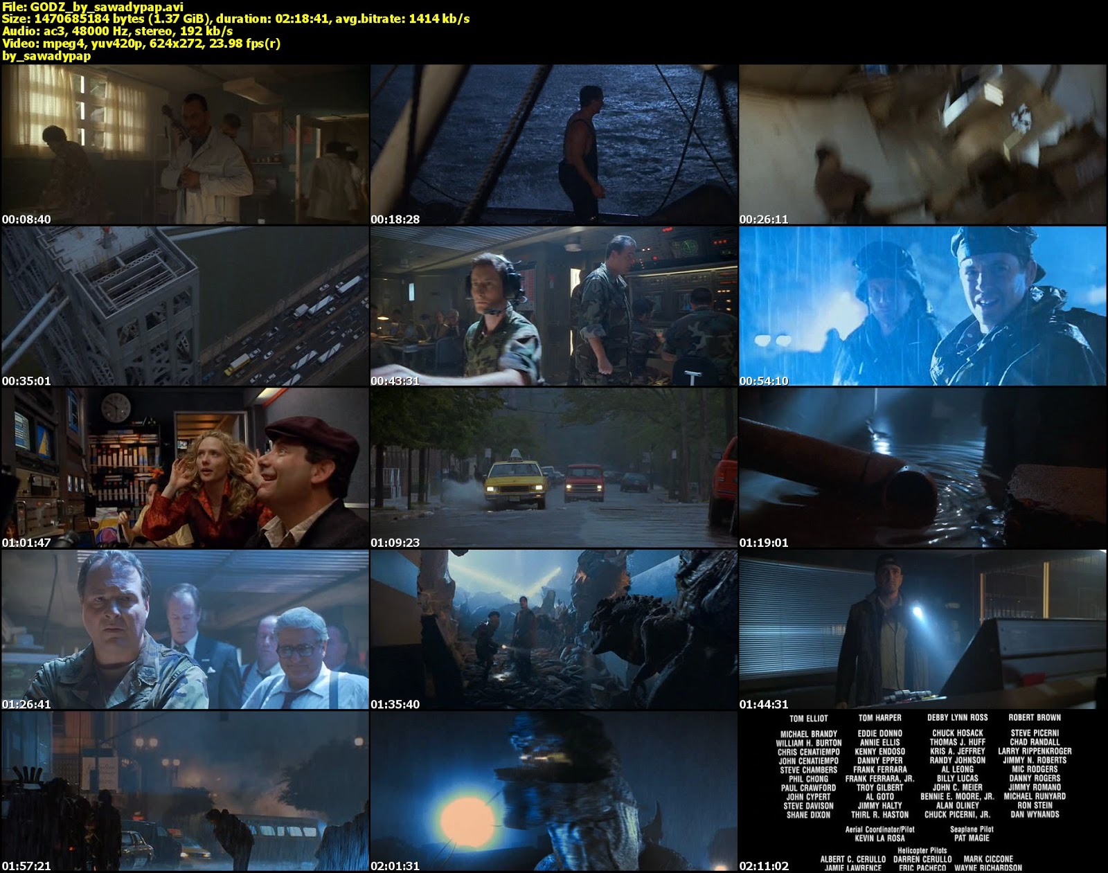 Godzilla [1998][DVDRip][Latino]