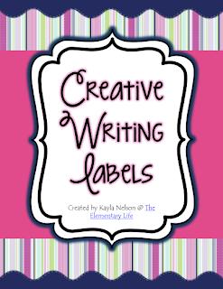 http://www.teacherspayteachers.com/Product/FREE-Creative-Writing-Labels-990571