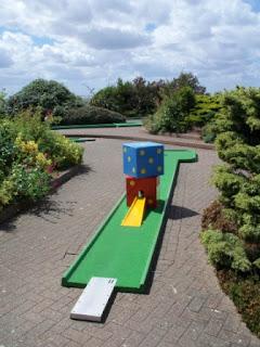 Crazy Golf at the Victorian Pavilion, North Promenade in Hunstanton