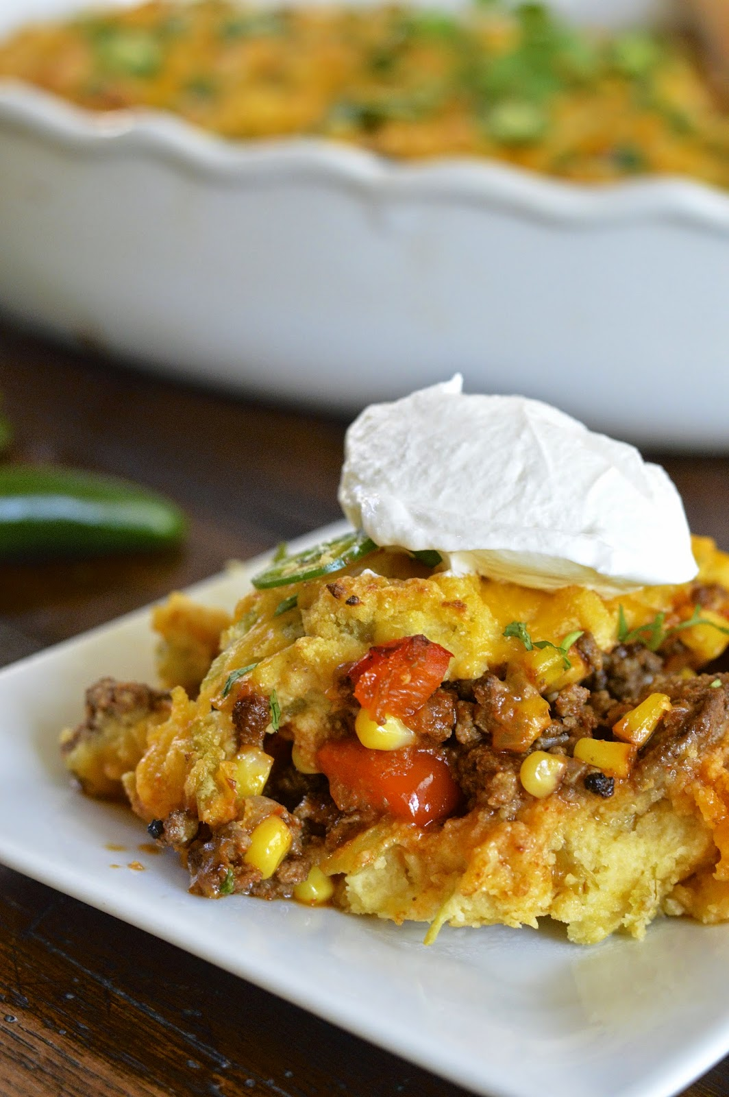 Tamale Pie | Virtually Homemade: Tamale Pie