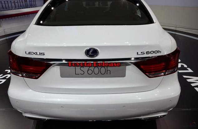 2015 LS 600h L with hybrid engine