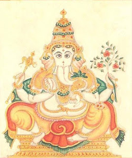 Kshipra Ganapati one of the 32 Forms of Lord Ganesh or Ganesha