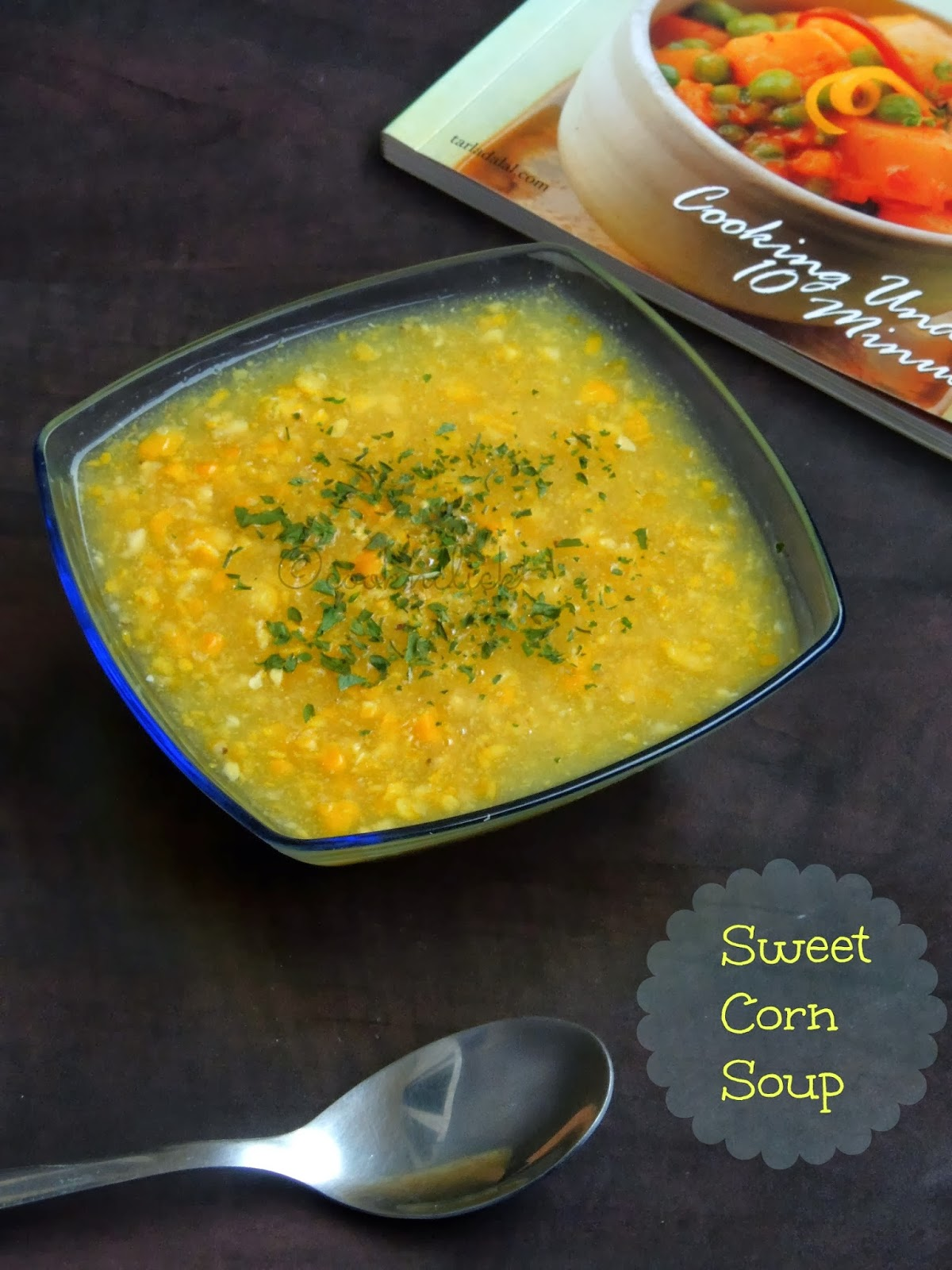 Sweet Corn Soup Recipe — Dishmaps