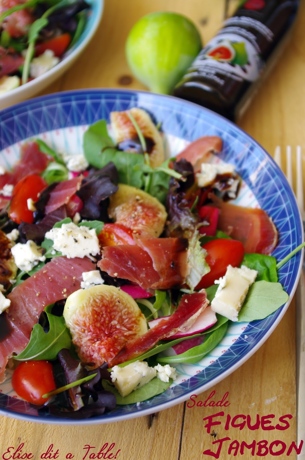 recette Salade figues jambon