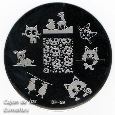 Placa BP59 - Bornpretty Store