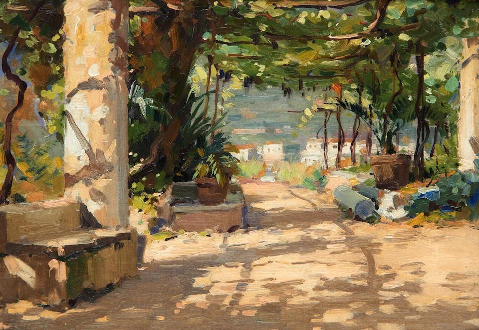 Albino Luca The garden of Hotel  elvedere