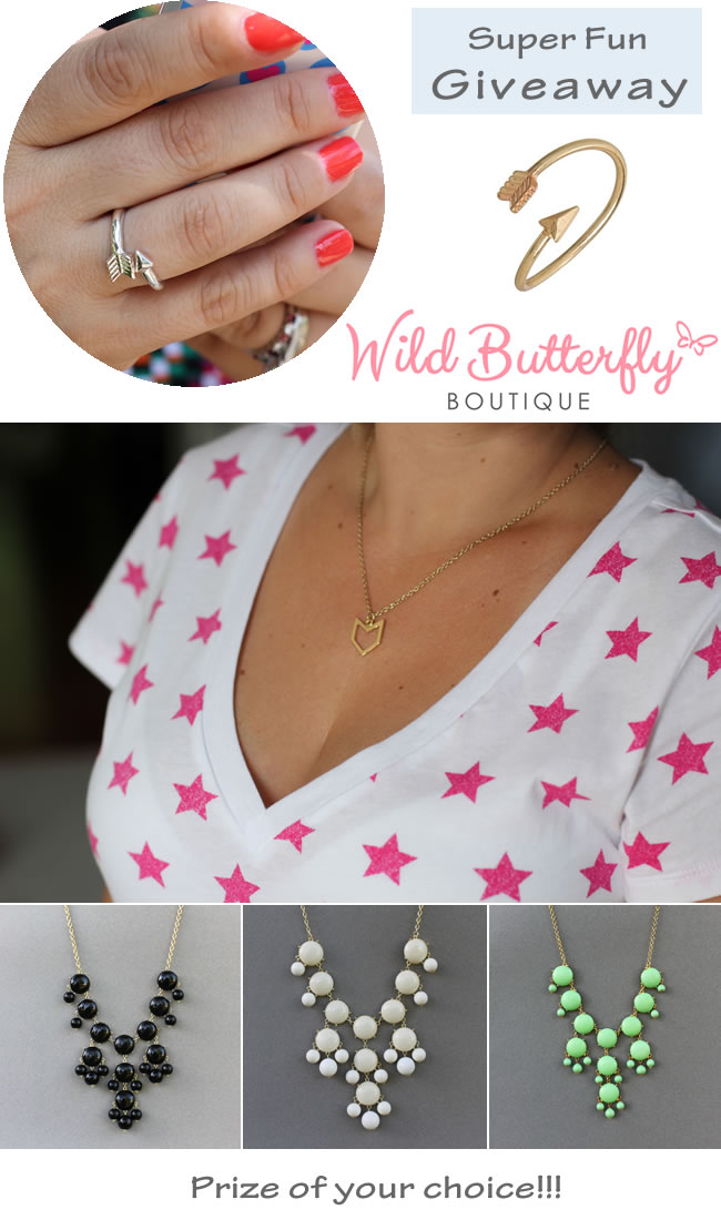 Wild Butterfly Boutique Giveaway