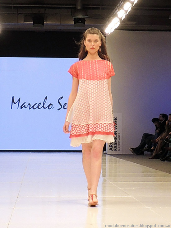 Marcelo Senra vestidos primavera verano 2015. Moda verano 2015.