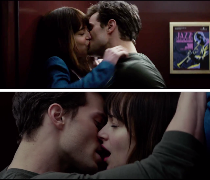 Image result for fifty shades of grey kissing scenes