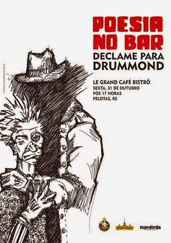 Poesia no Bar: Declame Drummond