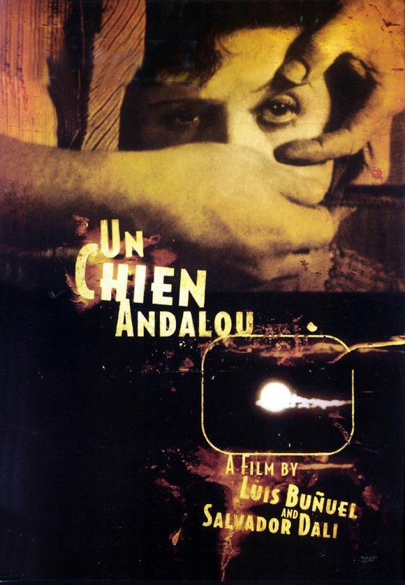1929 : Luis Buñuel: Un perro andaluz (Cartel)