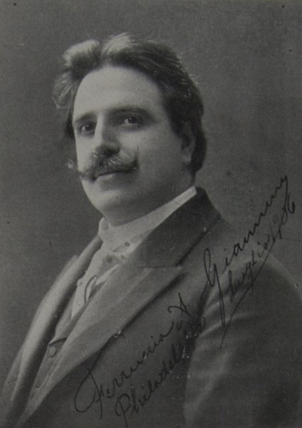 ITALIAN TENOR FERRUCCIO GIANNINI (1868 - 1948) CD