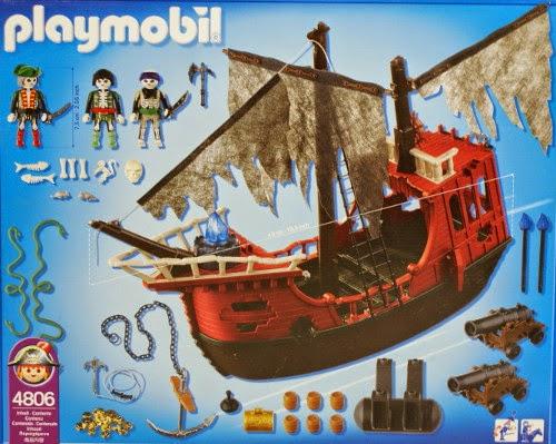 Libros y juguetes 1demagiaxfa juguetes playmobil for Barco pirata playmobil