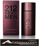 CAROLINA HERERA 212 SEXY MEN AROMANIA PARFUMERY