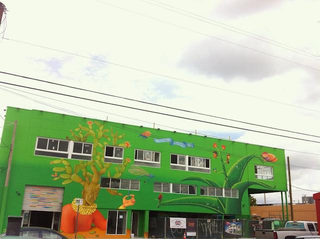 Street Art By Ukrainian Artists Interesni Kazki On The Streets Of Miami For Art Basel '13. 6