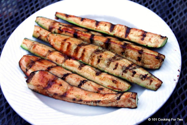 Grilled BBQ Zucchini from 101 Cooking For Two