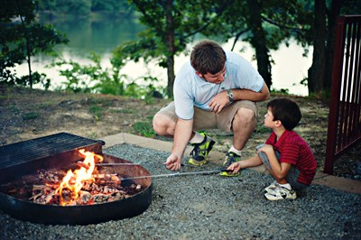 Michigan  DNR reminds residents and travelers: Don't let a fire ruin your camping weekend