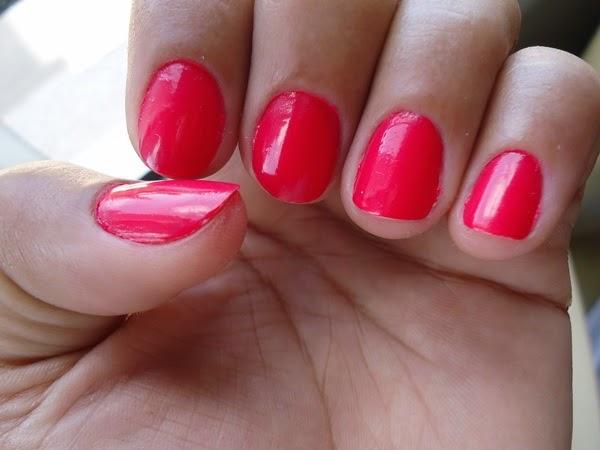 esmalte salmão rosa vermelho kiko milano