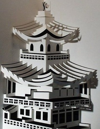 This is my story the real art kirigami architecture for Kirigami paper art