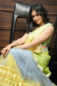Adah sharma glam pics in saree-thumbnail-10