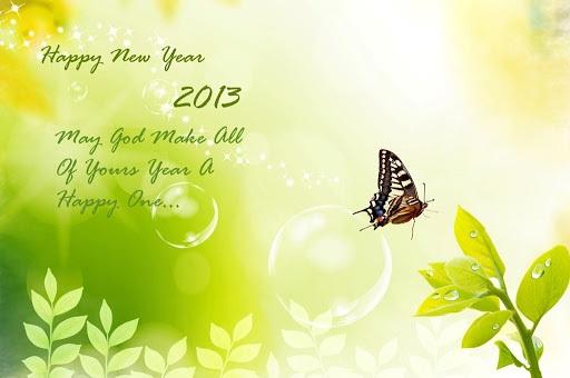 Animated Happy New Year 2013