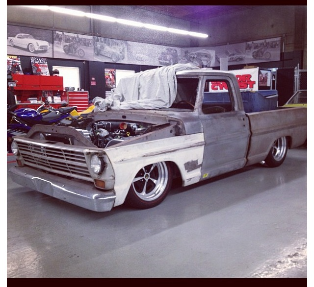 Supercharged V8 Ranger: For Sale: 1968 Ford F-100 Magazine Project Truck
