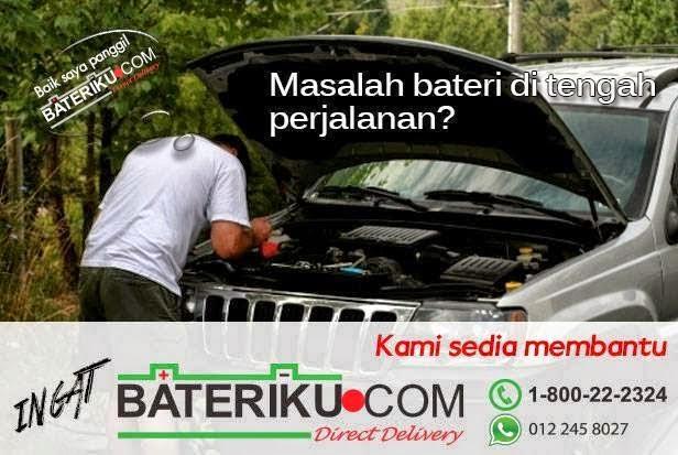 Penyelesaian Bateri Anda