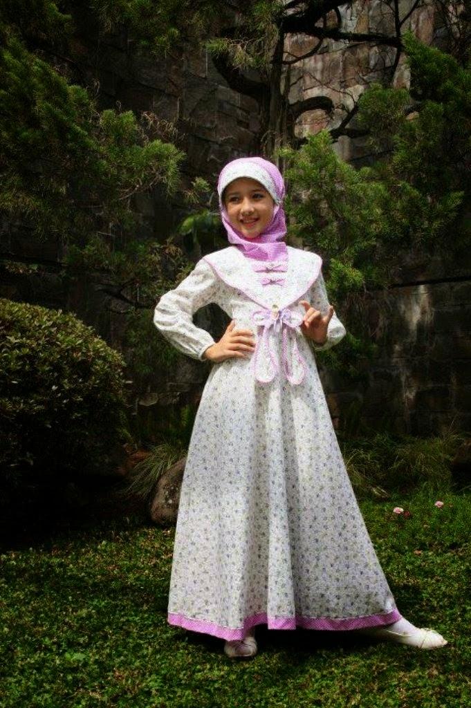 Model baju gamis dan dress untuk anak perempuan umur 12 tahun Baju gamis anak usia 10 tahun