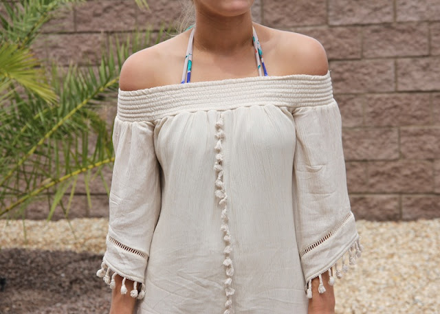 Tassel Dress in Lake Havasu