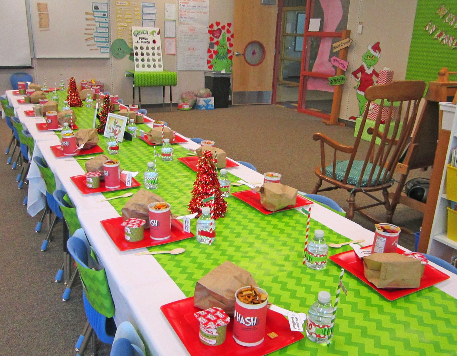 Classroom Celebration Ideas ~ Sweeten your day events grinch classroom party