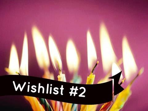 Wishlist de Aniversário #2