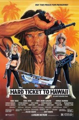 Hard Ticket to Hawaii (1987) pelicula de accion con Ronn Moss