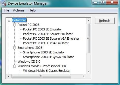 Device Emulator Manager