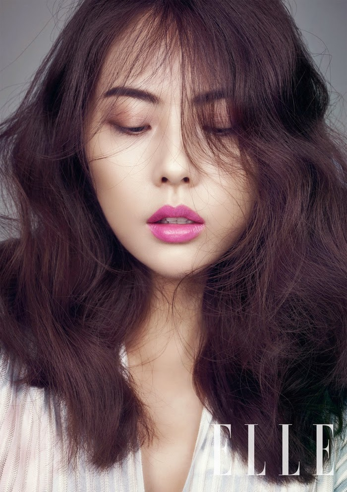 Park Ji Yoon - Elle Magazine March Issue 2014