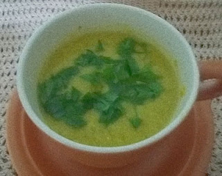 Sopa-creme vegetariana
