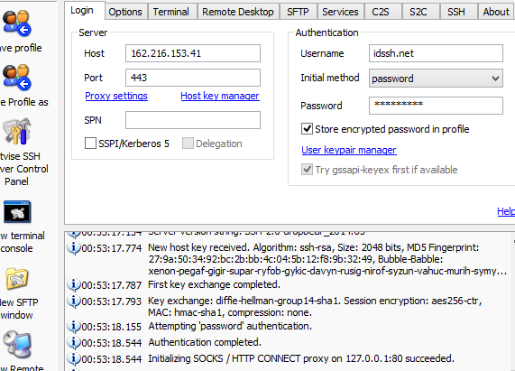 Free SSH Account USA 30 September 2014