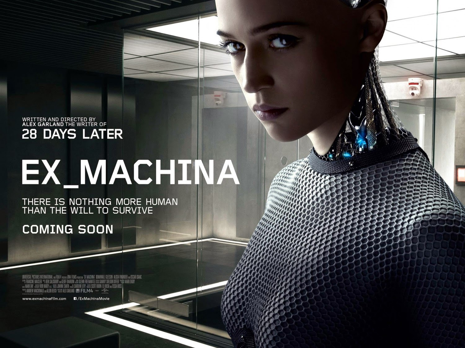 """Ex Machina"" UK Poster"