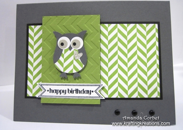 Lucky Birthday Owl