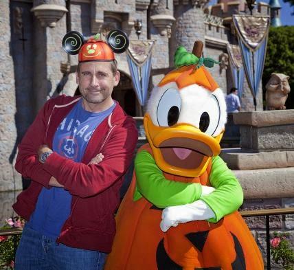 Steve Carell - 60 anos da Disney Land