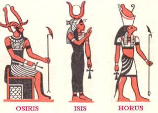 Dioses Egipcios. Osiris. Isis. Horus. Religion Egipcia. Dioses de Egipto. Egipto a tus pies