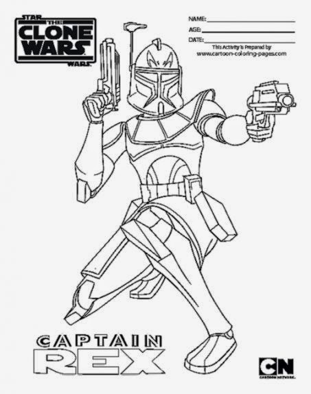clone commander gree coloring pages - photo#10