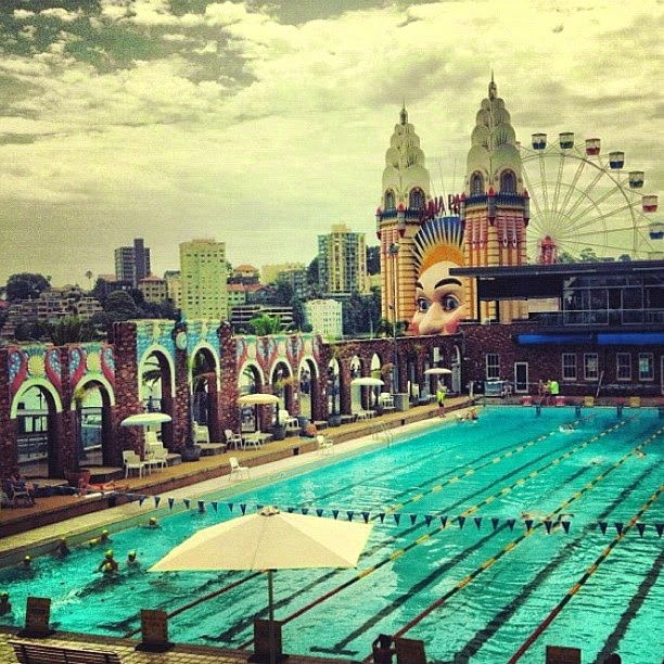 North Sydney public swimming pool, Australia