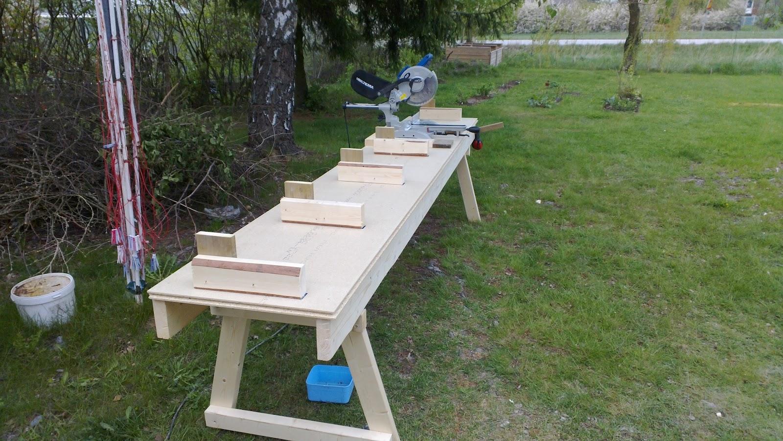 Bygga sågbord