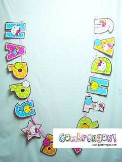 Hello Kitty Letter