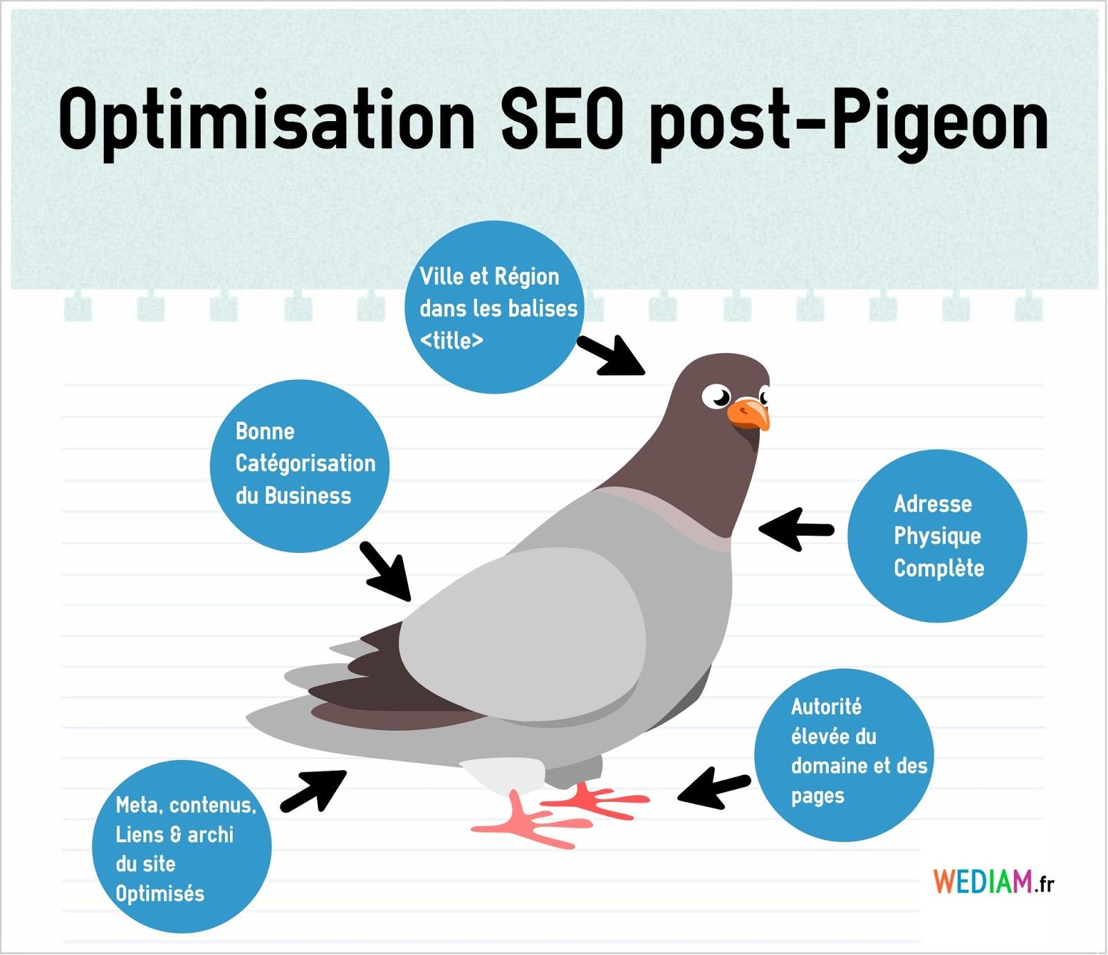 optimiser référencement google pigeon