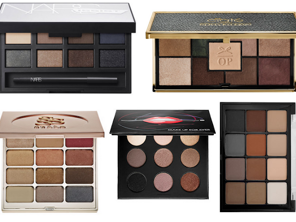 5 Eyeshadow palettes for your holiday wishlist.