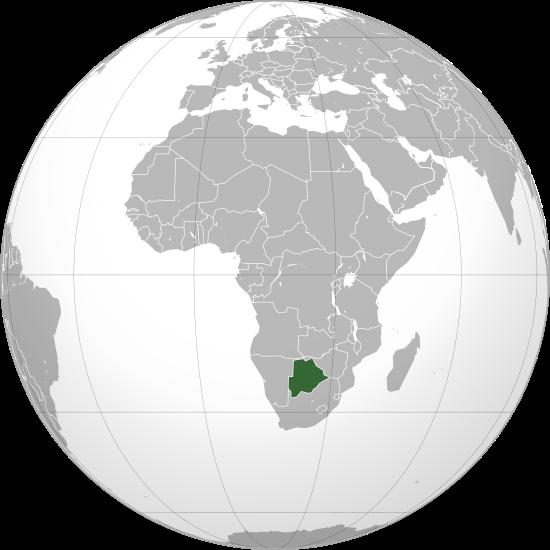 Globo Terráqueo Botsuana