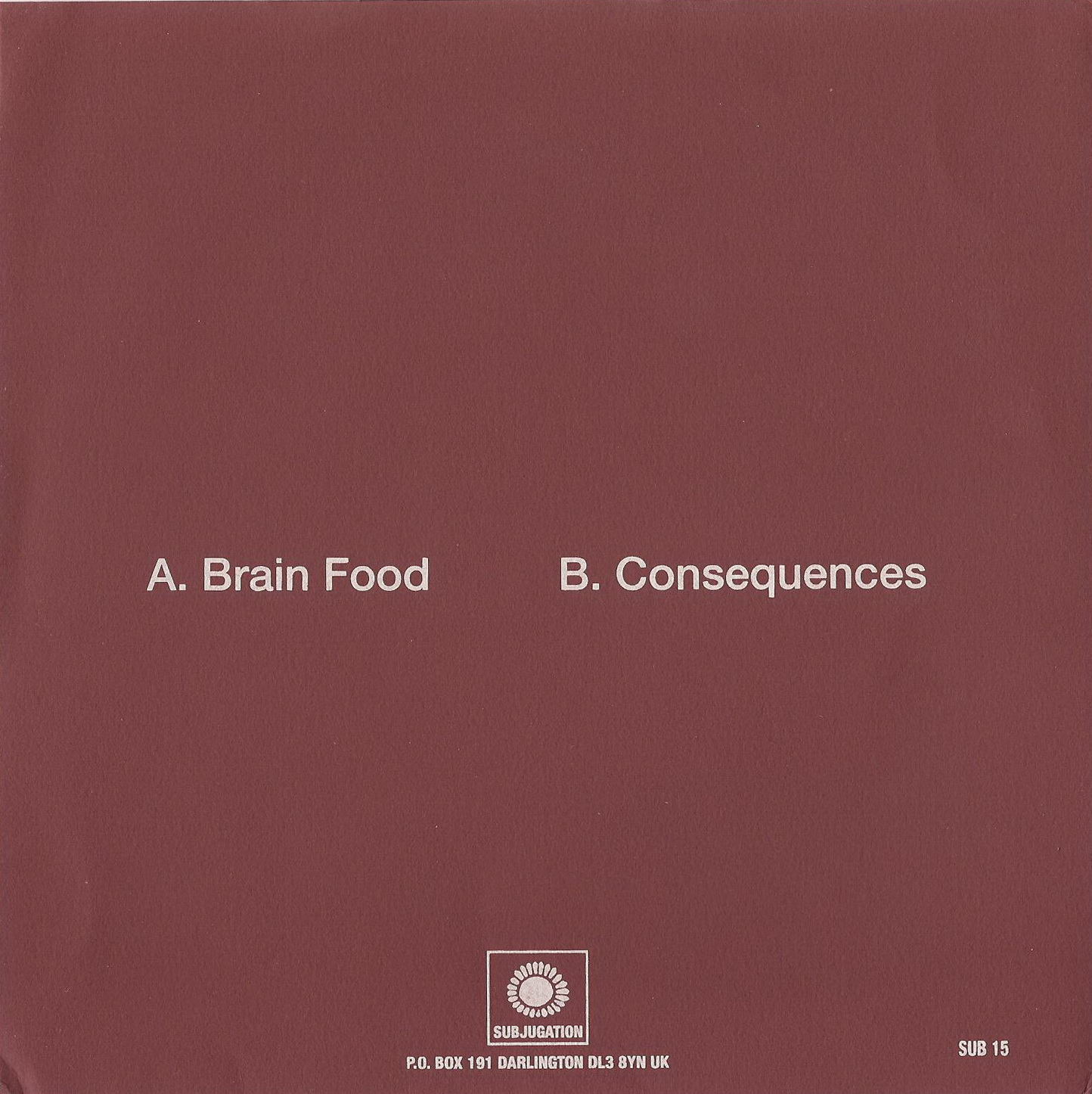 Imbiss - Brain Food / Consequences