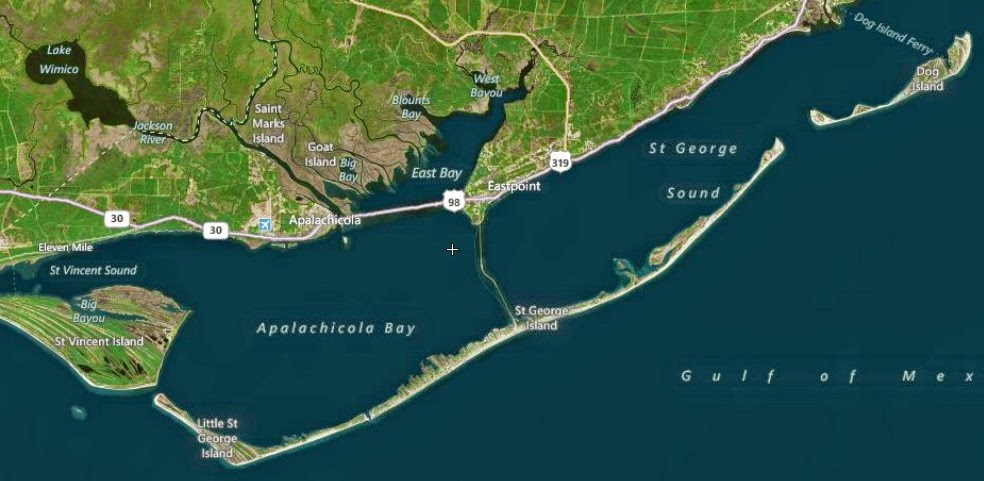 Dog Island Florida Map.Report From The Florida Zone St George Island